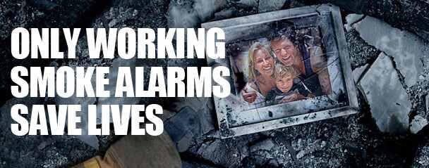 Image result for smoke alarms save lives