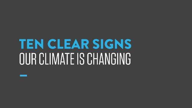 RT @ClimateReality: #ClimateMarch #ClimateFact: Here are 10 clear signs our climate is changing. https://t.co/H9EYIMAyrd