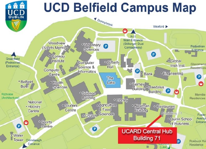 map of ucd campus Quinn School Ucd On Twitter Get To Know The Campus While It S map of ucd campus