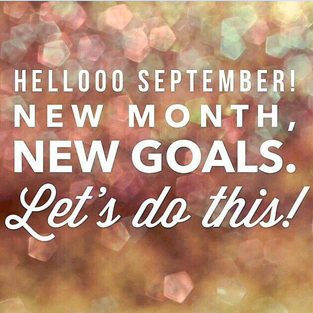 Surjit On Twitter Happy September New Month New Challenges New