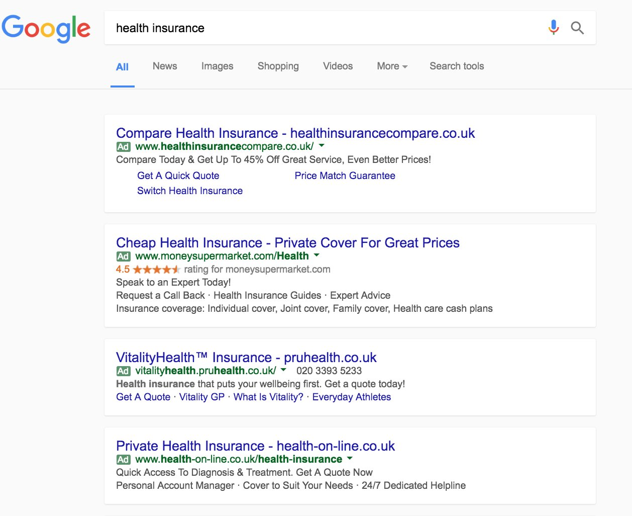 Private Health Insurance Quick Quote 44billionlater