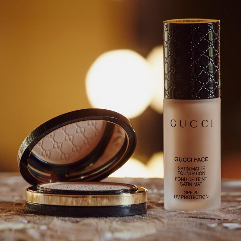 ผลการค้นหารูปภาพสำหรับ Gucci Face Satin Matte Foundation