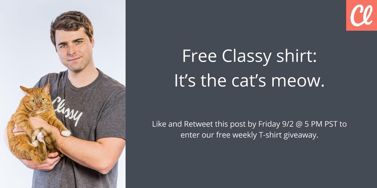 Want to win a free #ClassyShirt? Like AND retweet our post for a chance to win. https://t.co/2gvVT2ee6S https://t.co/377lDePOer