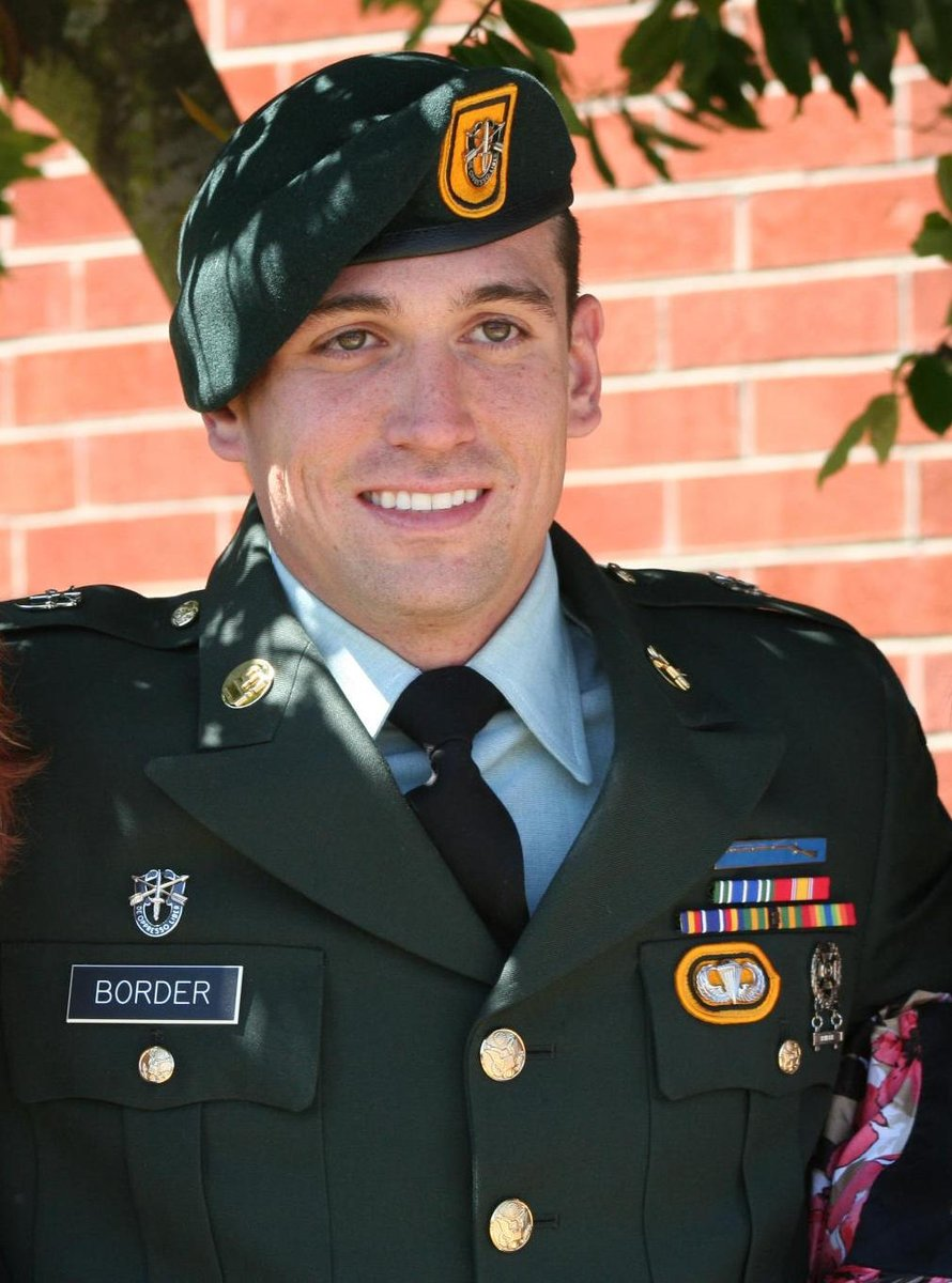 Today we remember Staff Sergeant Jeremie S. Border on the fourth anniversary of his passing. De Oppresso Liber! https://t.co/I1JHuo0hPE