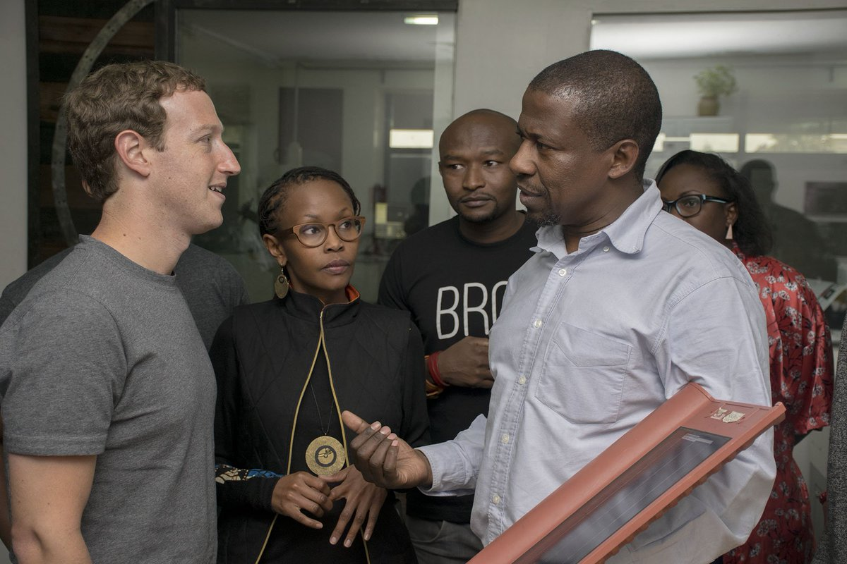 We were honored to host Mark Zuckerberg at the mlab where he interacted with #entrepreneurs and developers https://t.co/5f5i5VmFoT