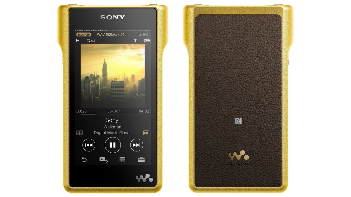 A $3,680 gold-plated hi-res audio player is Sony's latest attempt to revive the Walkman https://t.co/UeXgspcwAQ