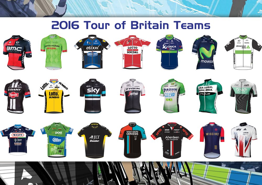 Check out the Team Jerseys for the #CTOB @TourofBritain https://t.co/AjSfBetoMv