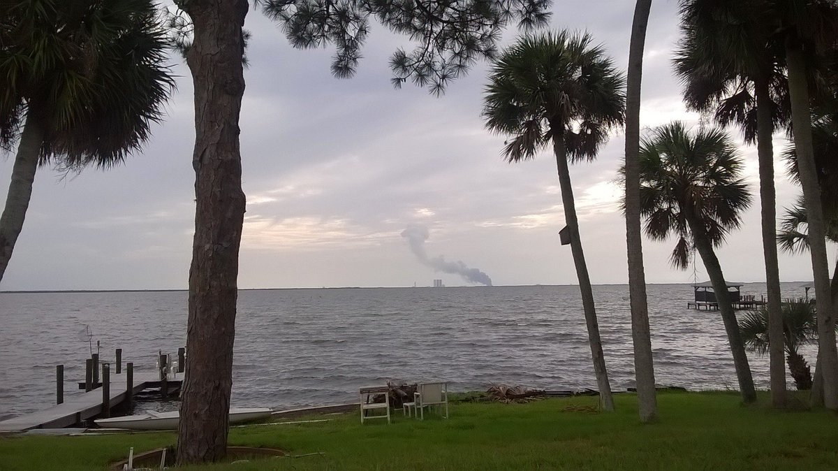 Reports: fire at cape canaveral on spacex launch pad ...