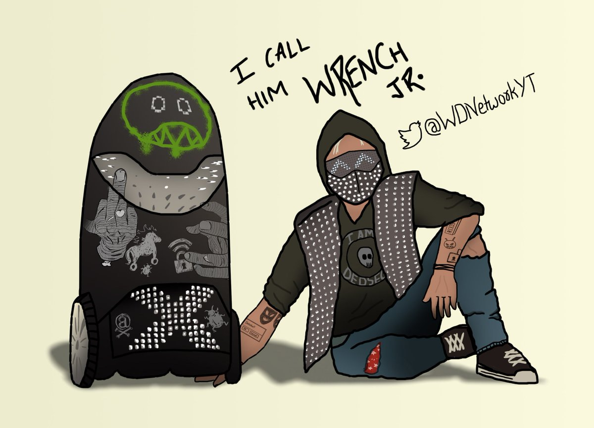 "Wrench Watch Dogs 2 Fanart: Watch Dogs Network_ On Twitter: ""Wrench With His Junior"