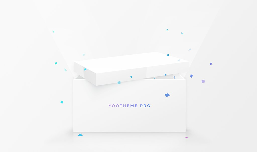 HUGE NEWS! We are thrilled to announce YOOtheme Pro – our next generation of themes