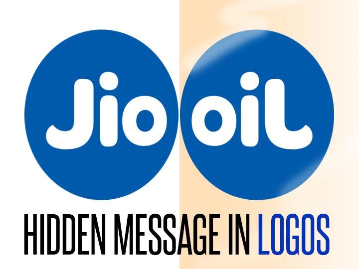 newsflicks on twitter the hidden message in reliance jio logo