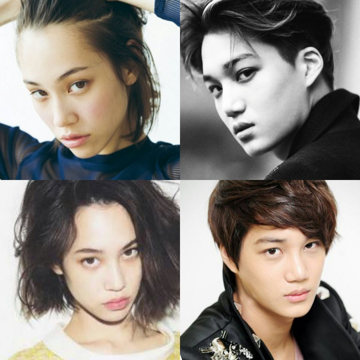 What are some idols of the opposite gender that look alike ...