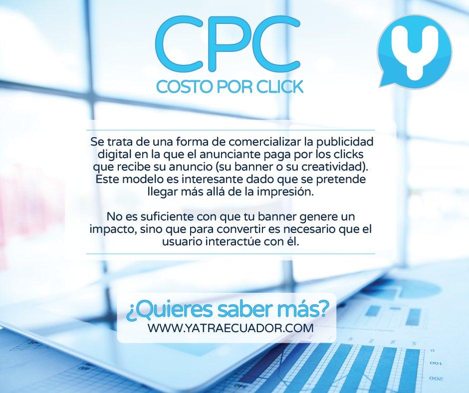 #Analíticaweb #MarketingDigital #CPC #YatraEcuador https://t.co/FZELfaWY5q