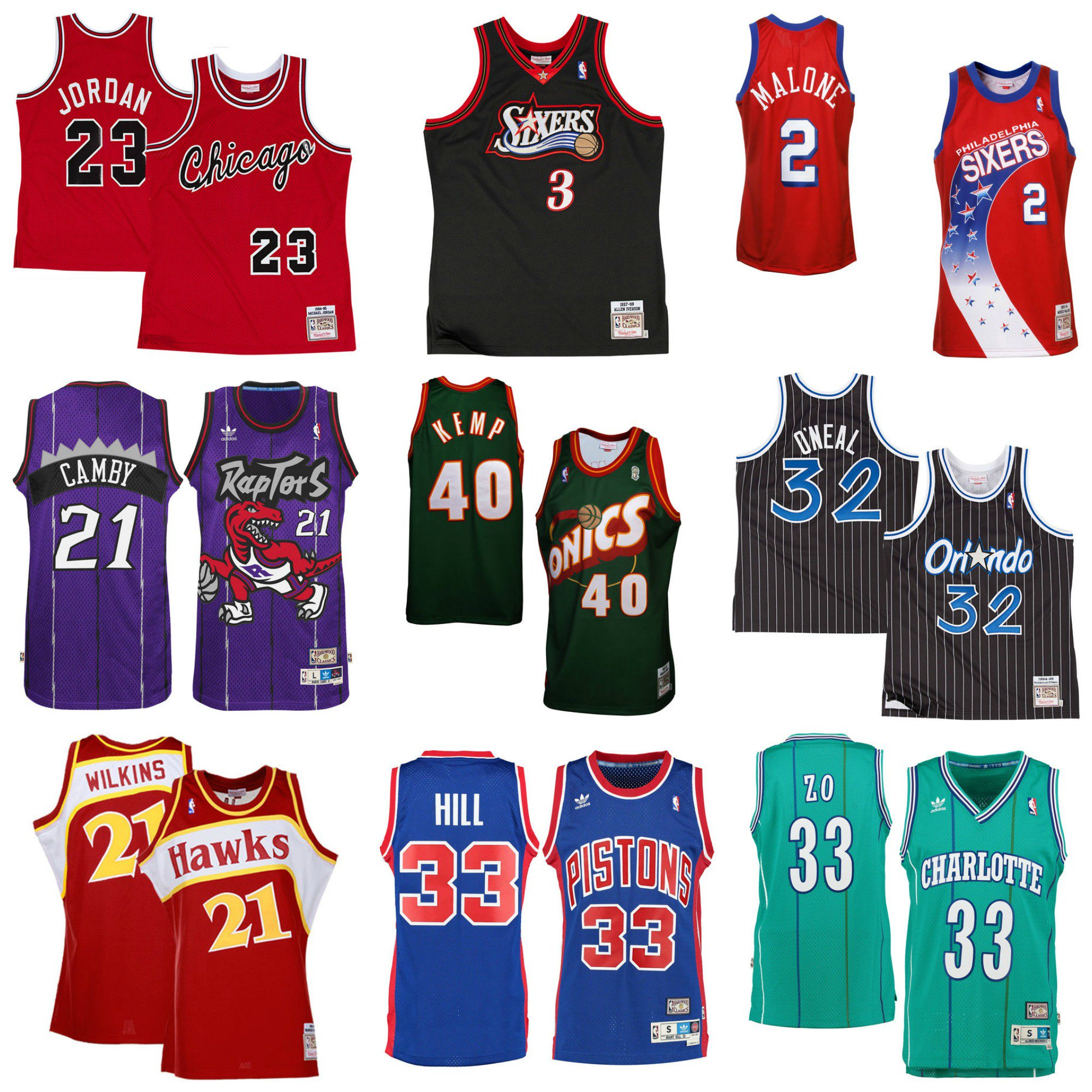 Nba store on twitter tbt what 39 s the best retro jersey for Hawks t shirt jersey