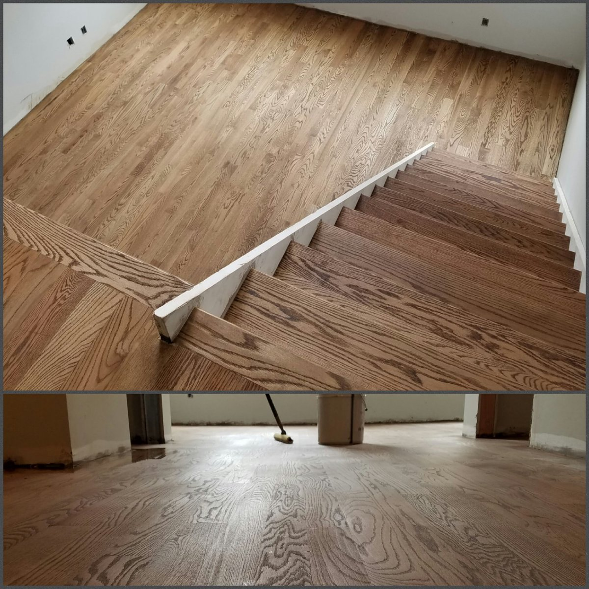Ssj Flooring On Twitter Special Walnut Stain Red Oak Wood Great Job By Our Team Duraseal Thursdaythoughts Deadlineday