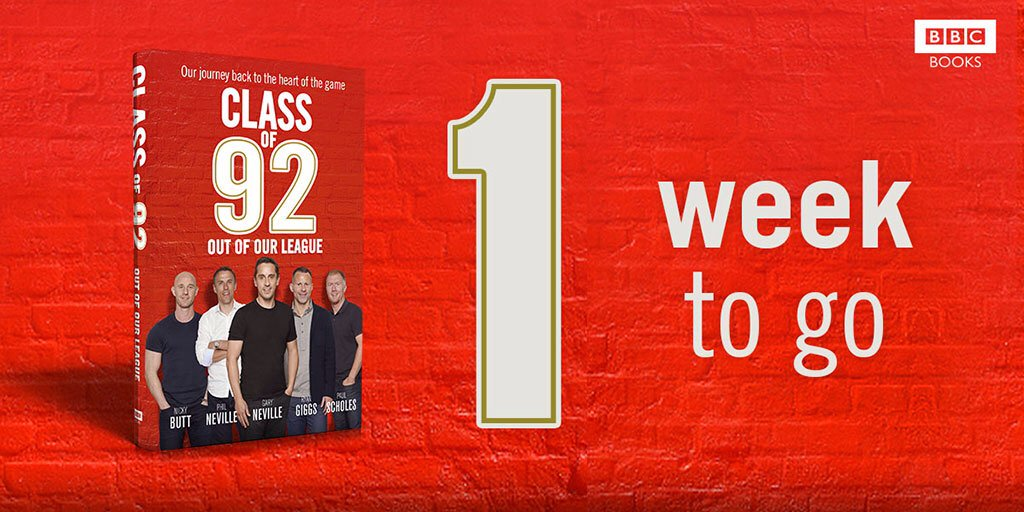 Love #CO92? RT+follow by Friday 5pm for chance to win a copy #Classof92book signed by Gary, Phil, Paul, Ryan+Nicky https://t.co/dOeOy8mwzN