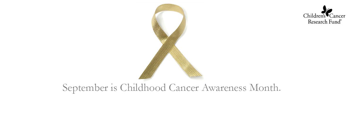It's #childhoodcancerawarenessmonth and we're going gold! Join us. #GoGold https://t.co/eeteay2di0