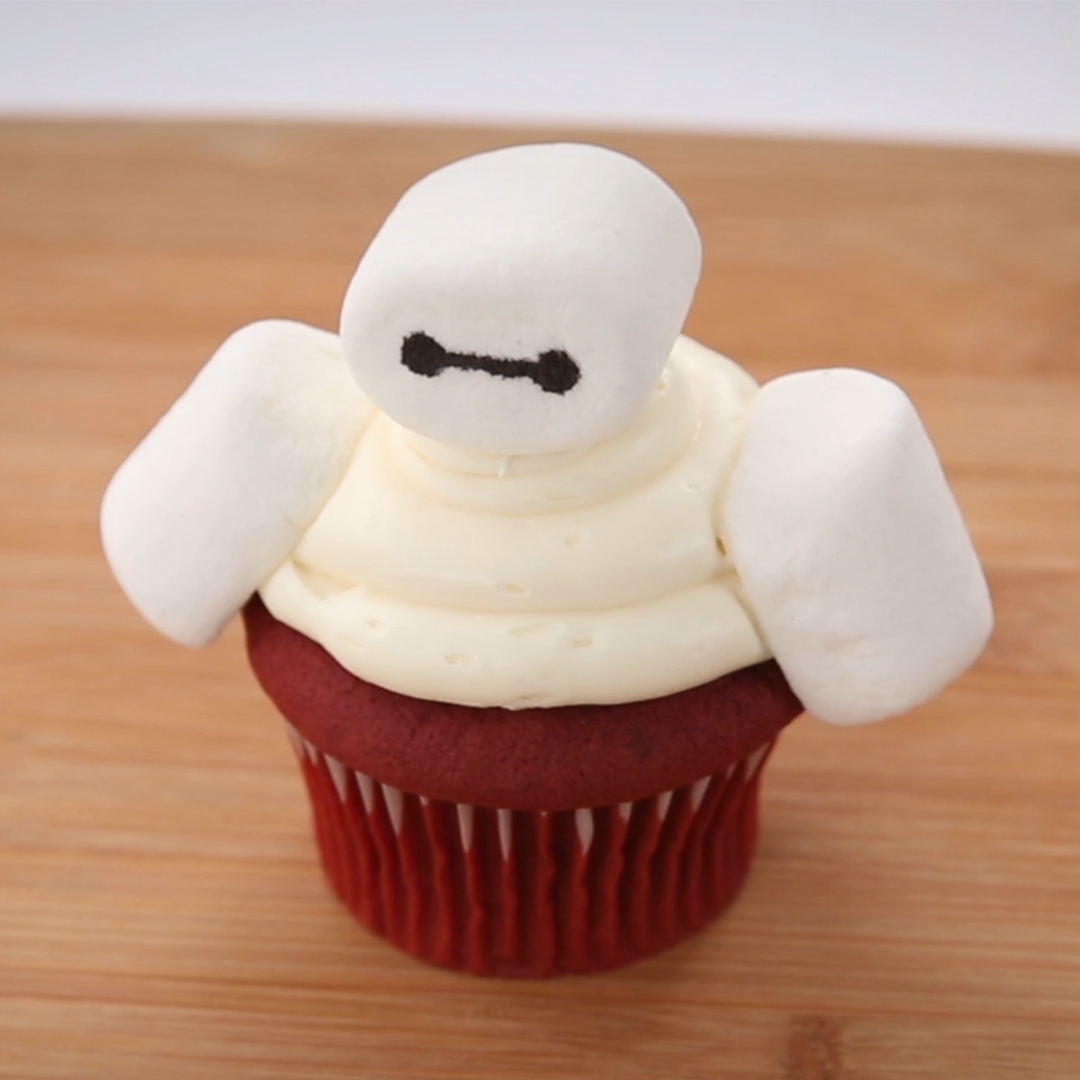 Diagnosis: sweet. Try @Disney_Family's Baymax cupcake on #NationalSupe...