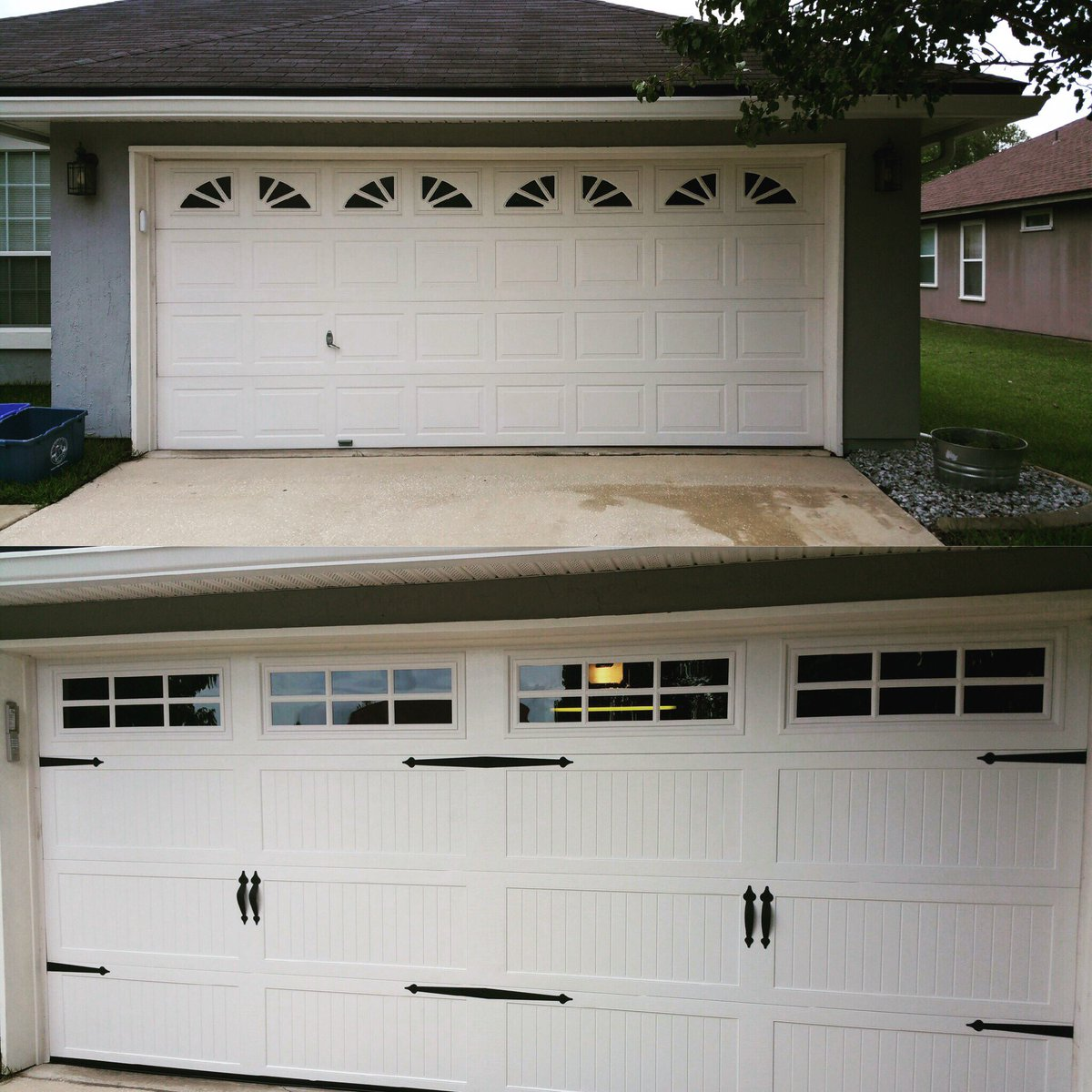 Garage Doors Jax Fl On Twitter Look At That Difference