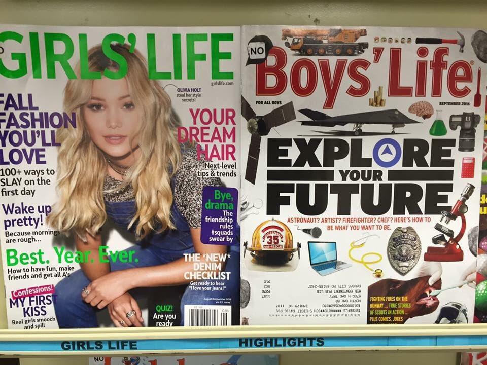 magazines sexistes