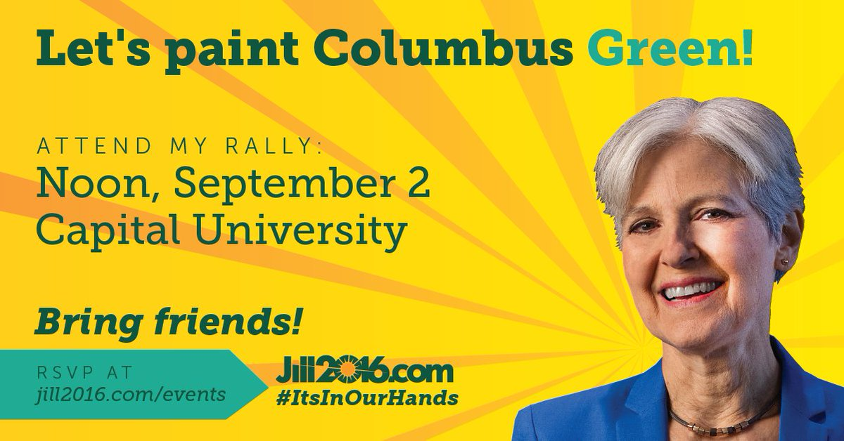 I'll be holding a rally in #Columbus #Ohio tomorrow! RSVP at https://t.co/KmJnOiFV69