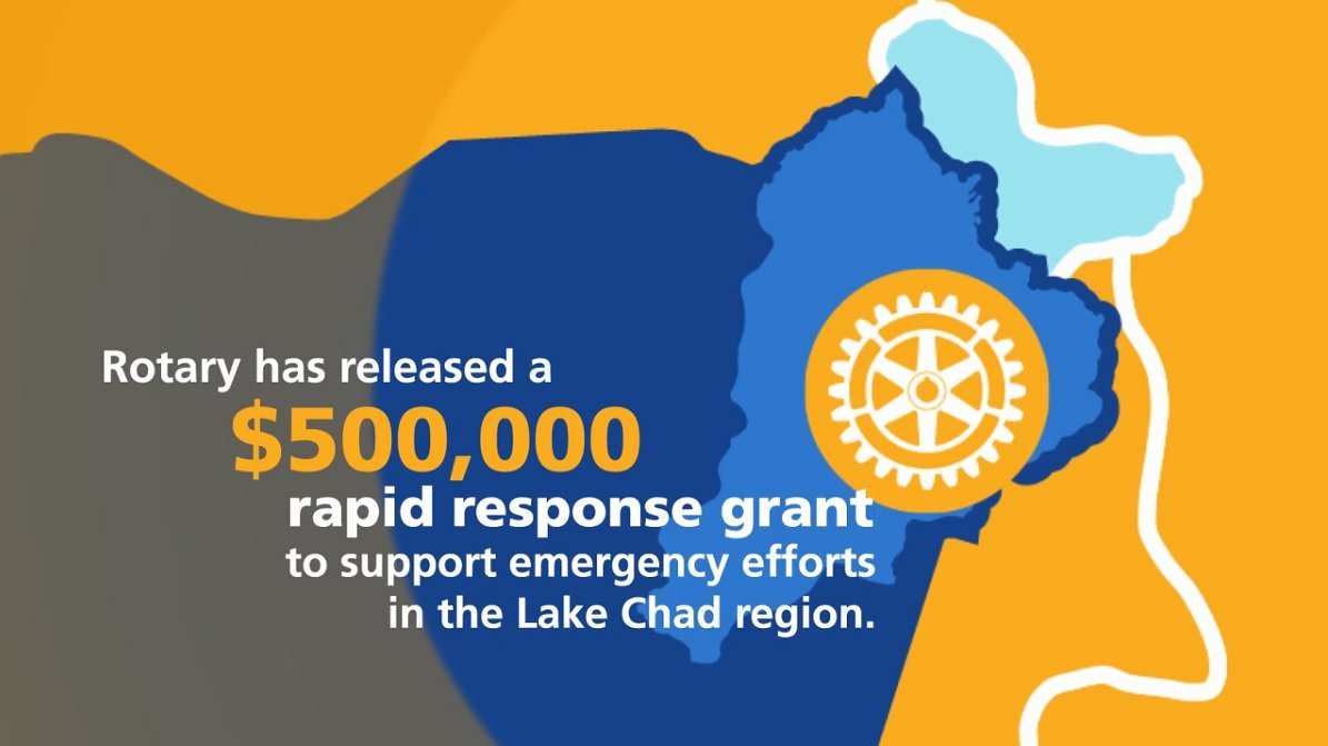 #Rotary is responding to polio cases in #Nigeria with a $500,000 grant to reach every child with the polio vaccine. https://t.co/NIf1KMz2ve