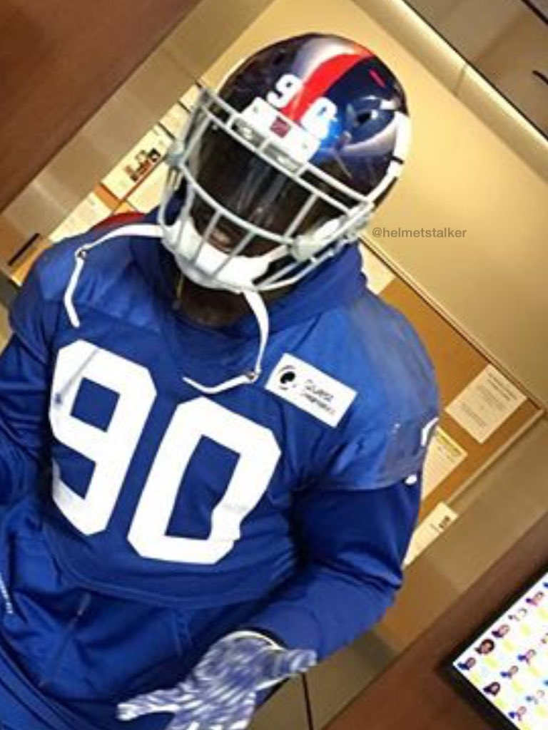 Helmet Stalker On Twitter Giants De Jason Pierre Paul Is Now Using