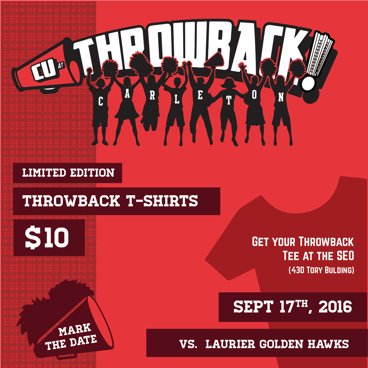 Buy a red throwback