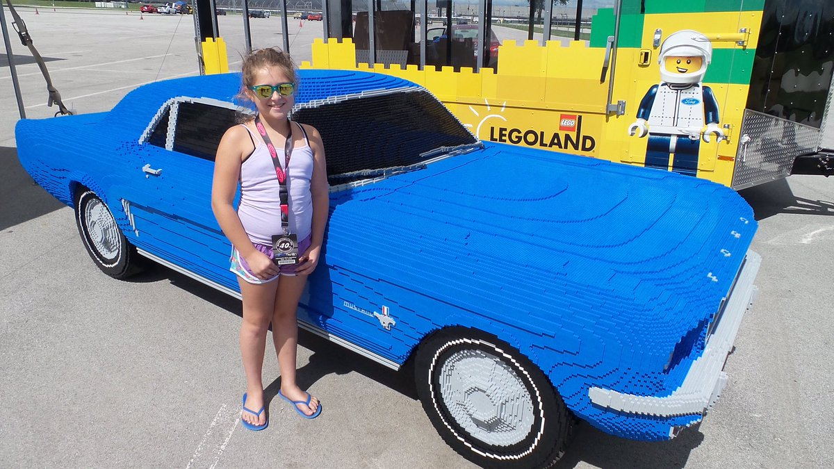 "legoland florida on twitter: ""11-year-old olivia came from"