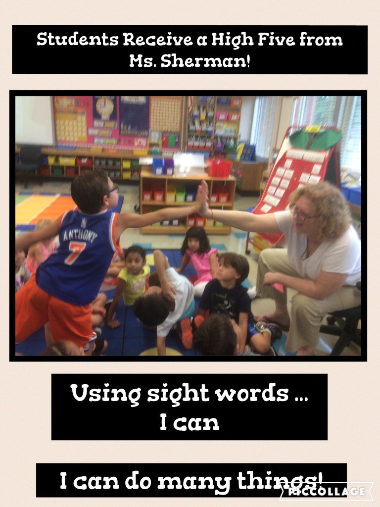 Starting the day off with a high five from Ms. Sherman! @Ivysherman @HankGrishman @JerichoUFSD #seamanstrength https://t.co/cmQYcQWXWn