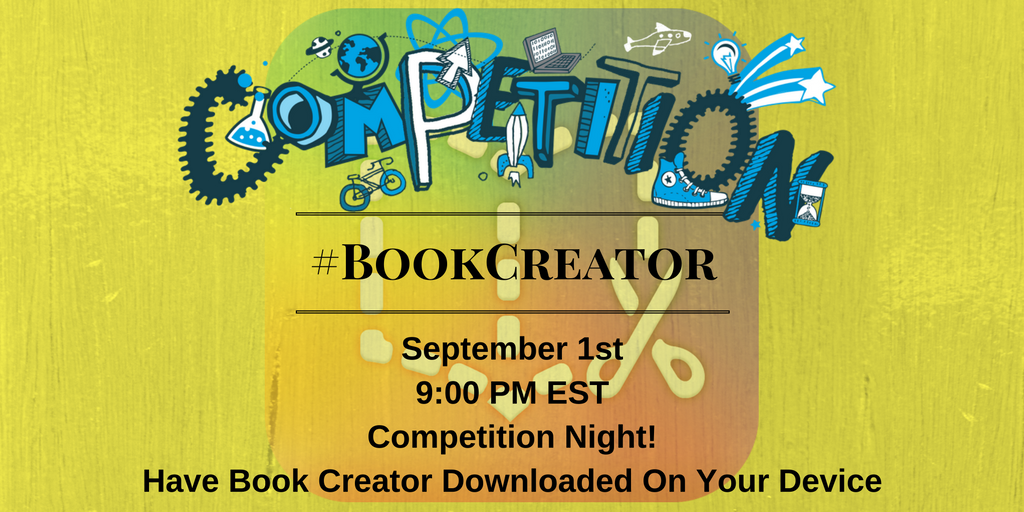 Thumbnail for #BookCreator 9/1/2016