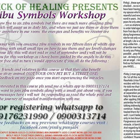 Pinky On Twitter Join My Free Zip Symbols Workshop Zibu Healing