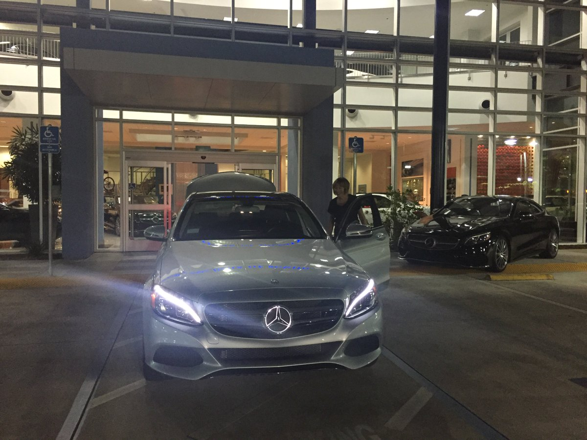 Von Housen Group On Twitter Marilyn S New 2016 C300 With