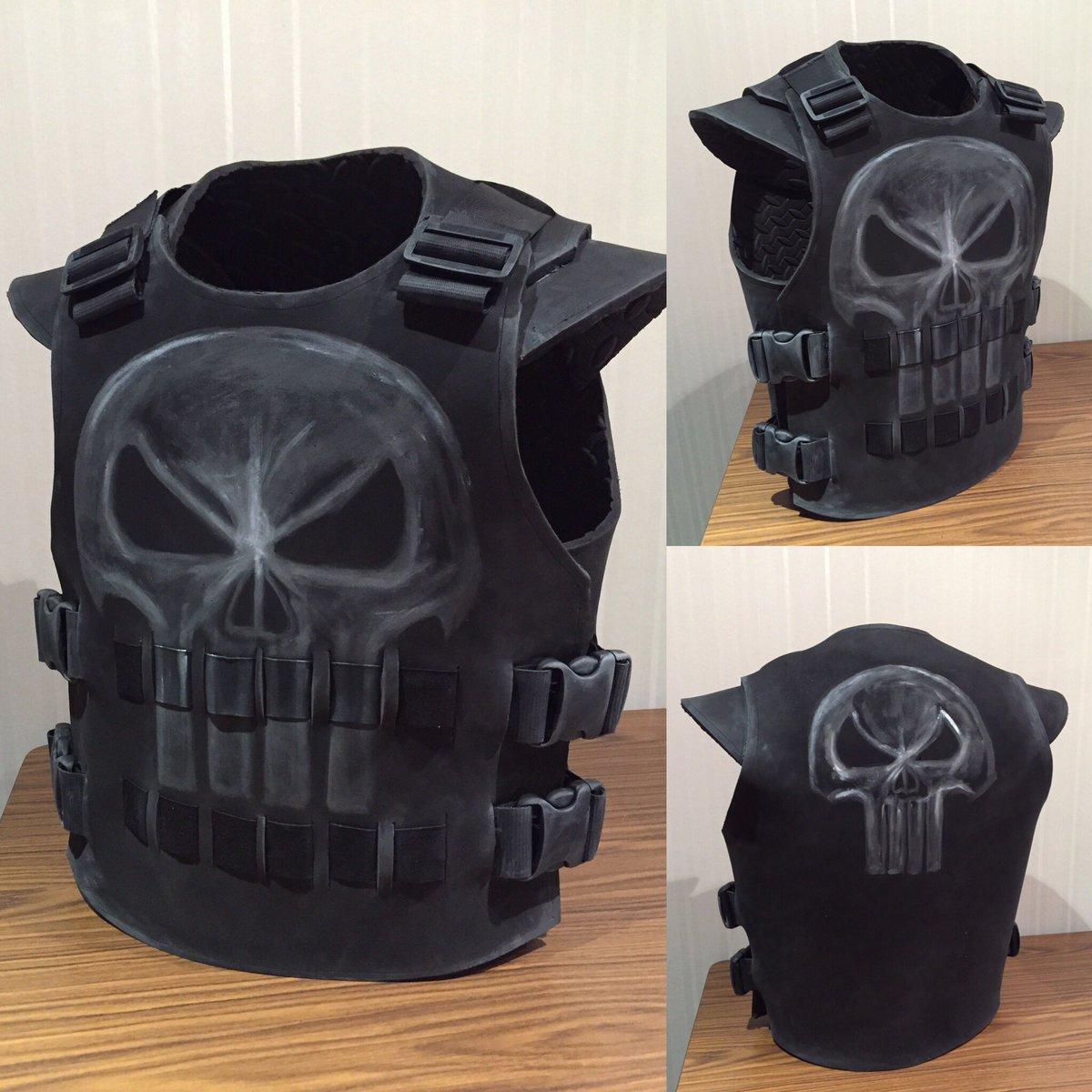 Spicythaidesign on Twitter  A 4 hour build punisher best for a costume day at work. Eva foam. @WetaWorkshop #costume #cosplay @MordenNZu2026   & Spicythaidesign on Twitter: