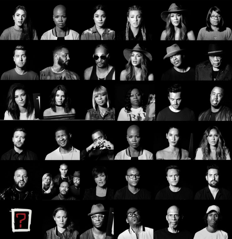 People got me, got me questioning #WHERESTHELOVE [?]  Video live NOW
