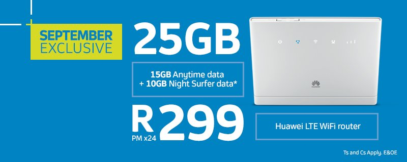 telkom on twitter get yourself a huawei lte wifi router. Black Bedroom Furniture Sets. Home Design Ideas