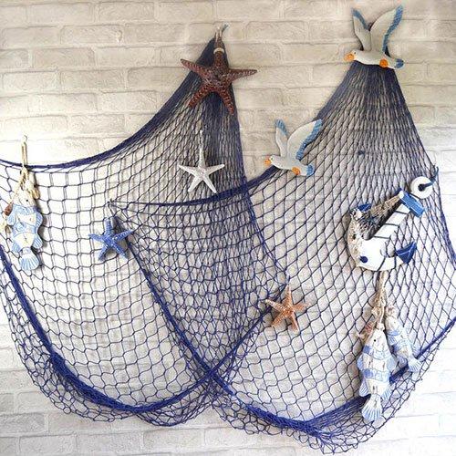 покрасить рыбацкой сеть