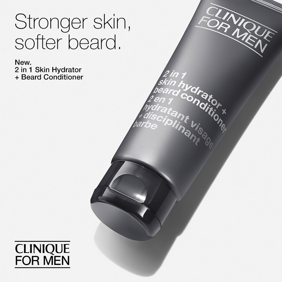 Clinique - 2 In 1 Skin Hydrator + Beard Conditioner -100ml/3.4oz Age Fitness Night Advanced Night Recovery Anti-Aging Care