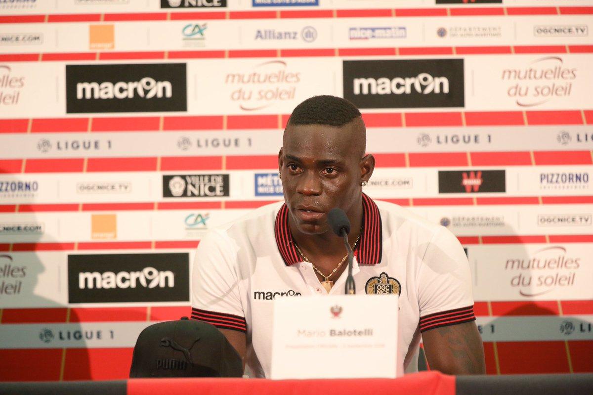 Балотелли разъяснил решение продолжить карьеру в«Ницце»