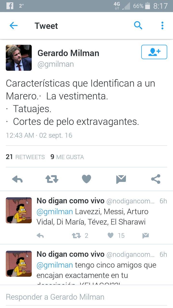 Thumbnail for Las burlas sobre los twitts de Gerardo Milman