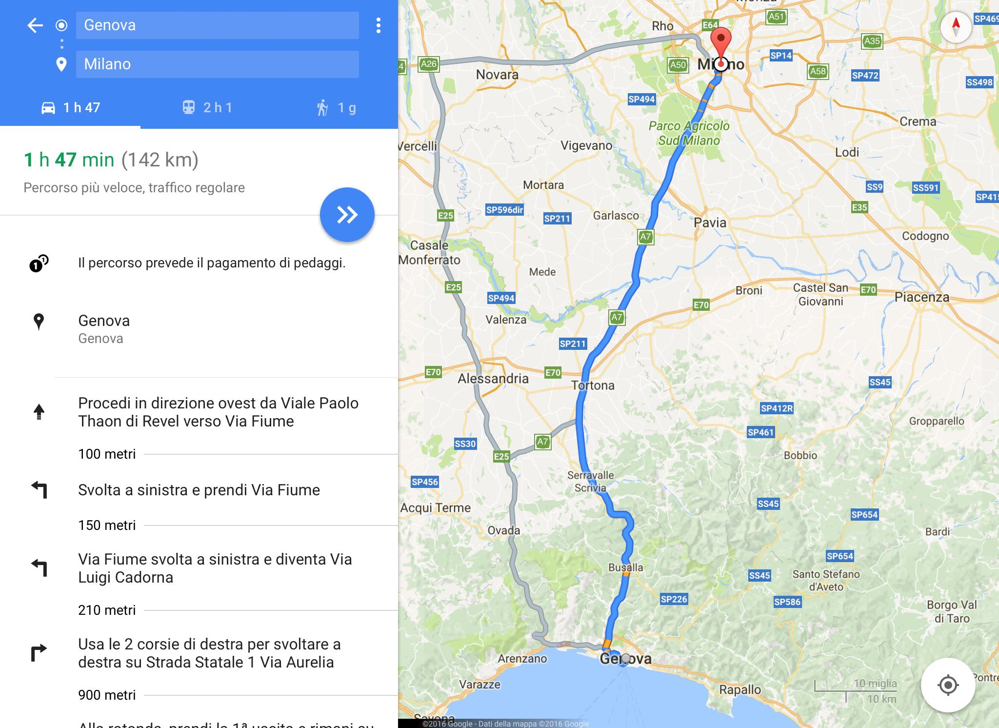 calcolare distanza km google maps help tecno blog. Black Bedroom Furniture Sets. Home Design Ideas