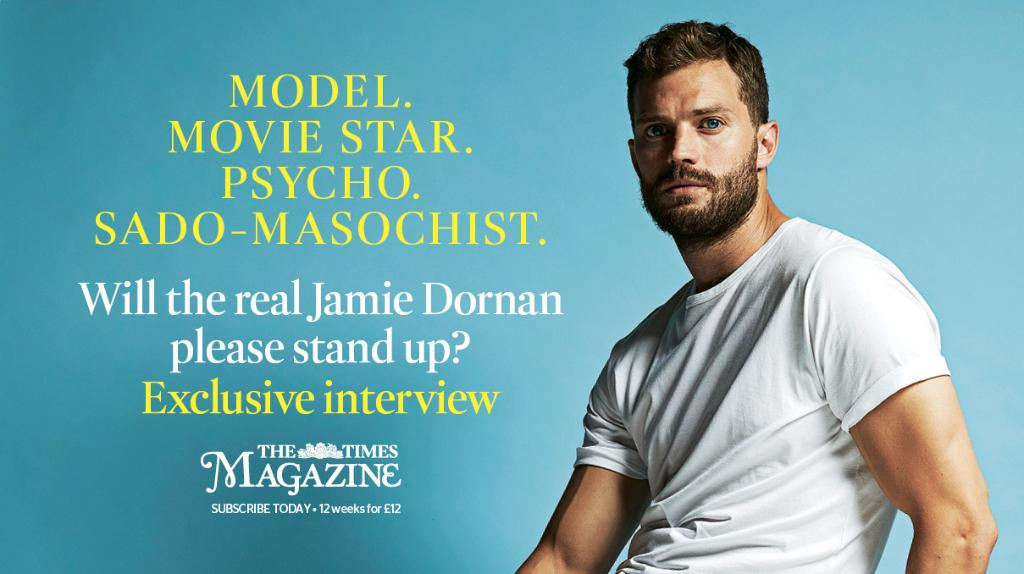 TOMORROW: Don't miss our exclusive interview with the one and only Jamie Dornan https://t.co/U2b4aPsNjm https://t.co/TMUEQcKQWf