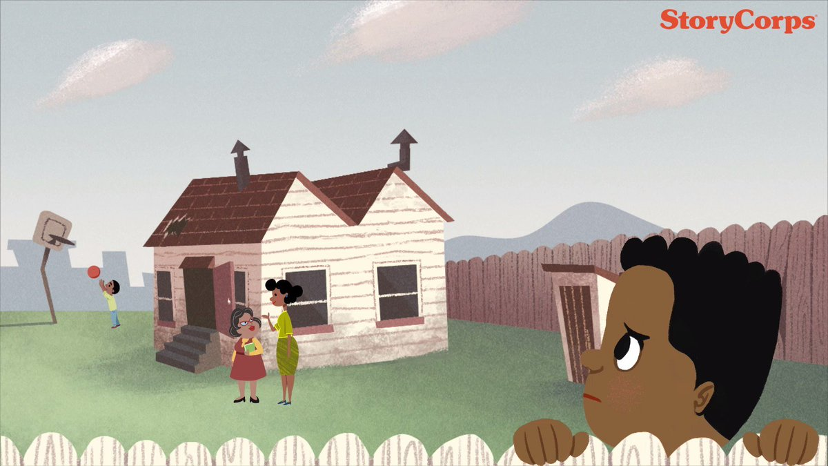 """Watch """"School's Out,""""the newest short from @StoryCorps' award-winning animation team. Presented w/ @snapjudgment. https://t.co/kR4fUeWcO2"""