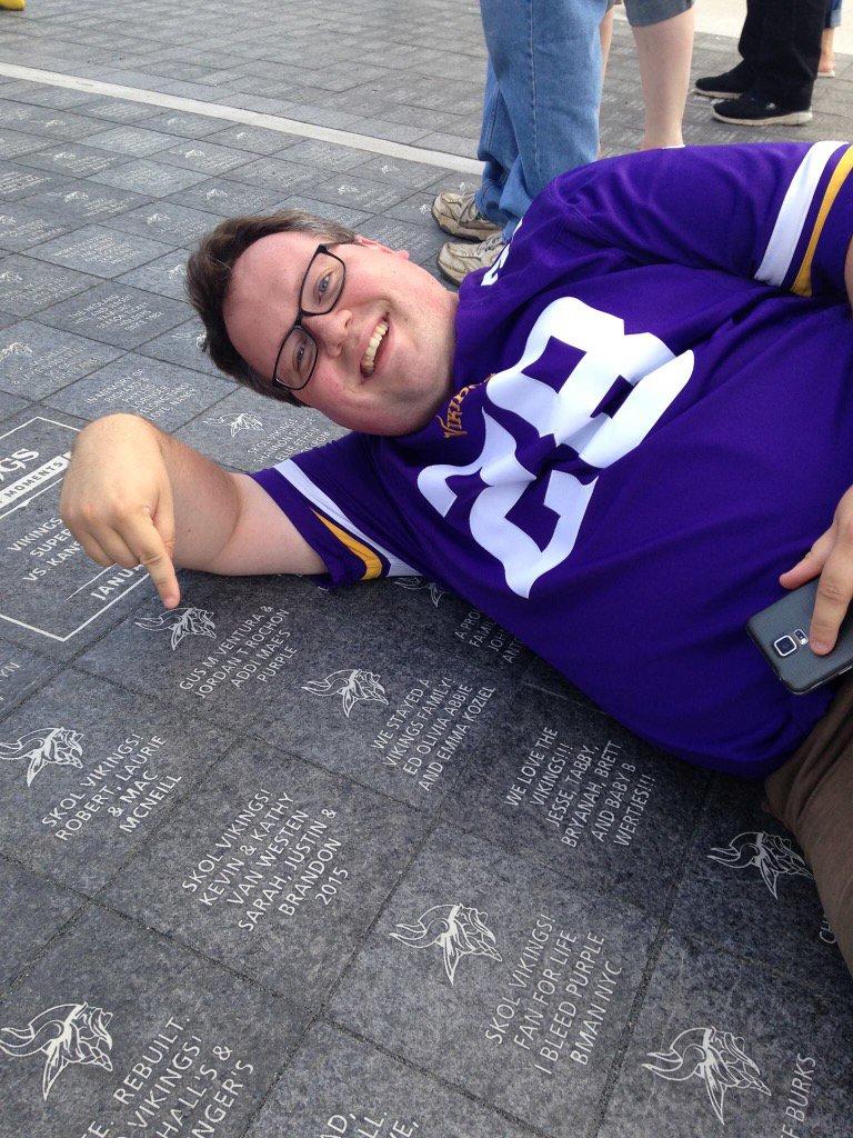 Minnesota Vikings New Stadium Bricks - Us bank stadium legacy bricks map