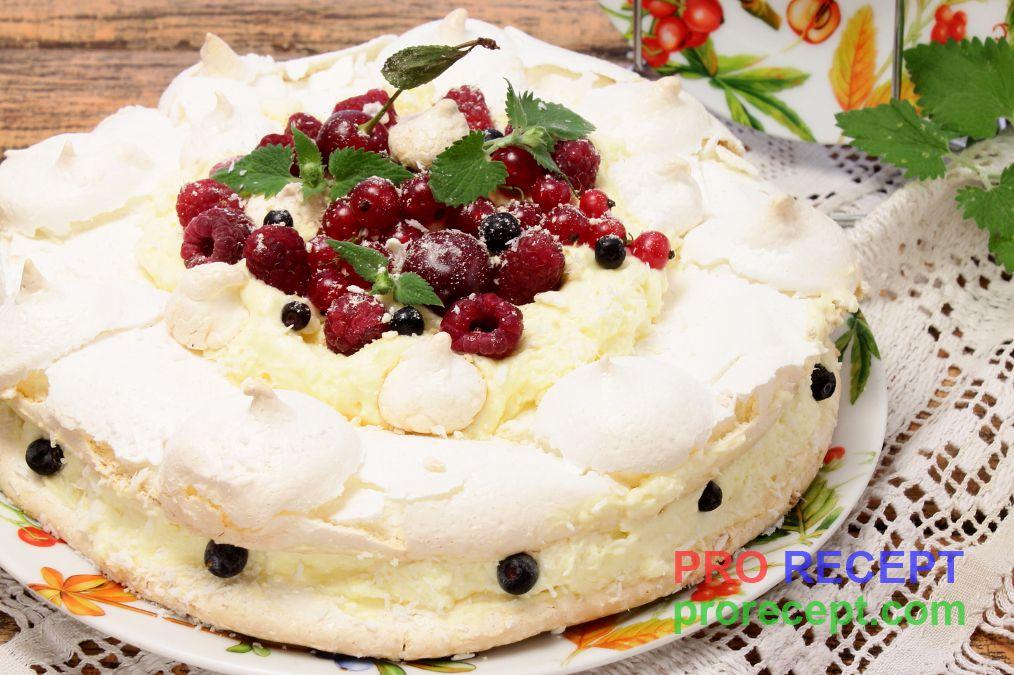 торт безе рецепт видео