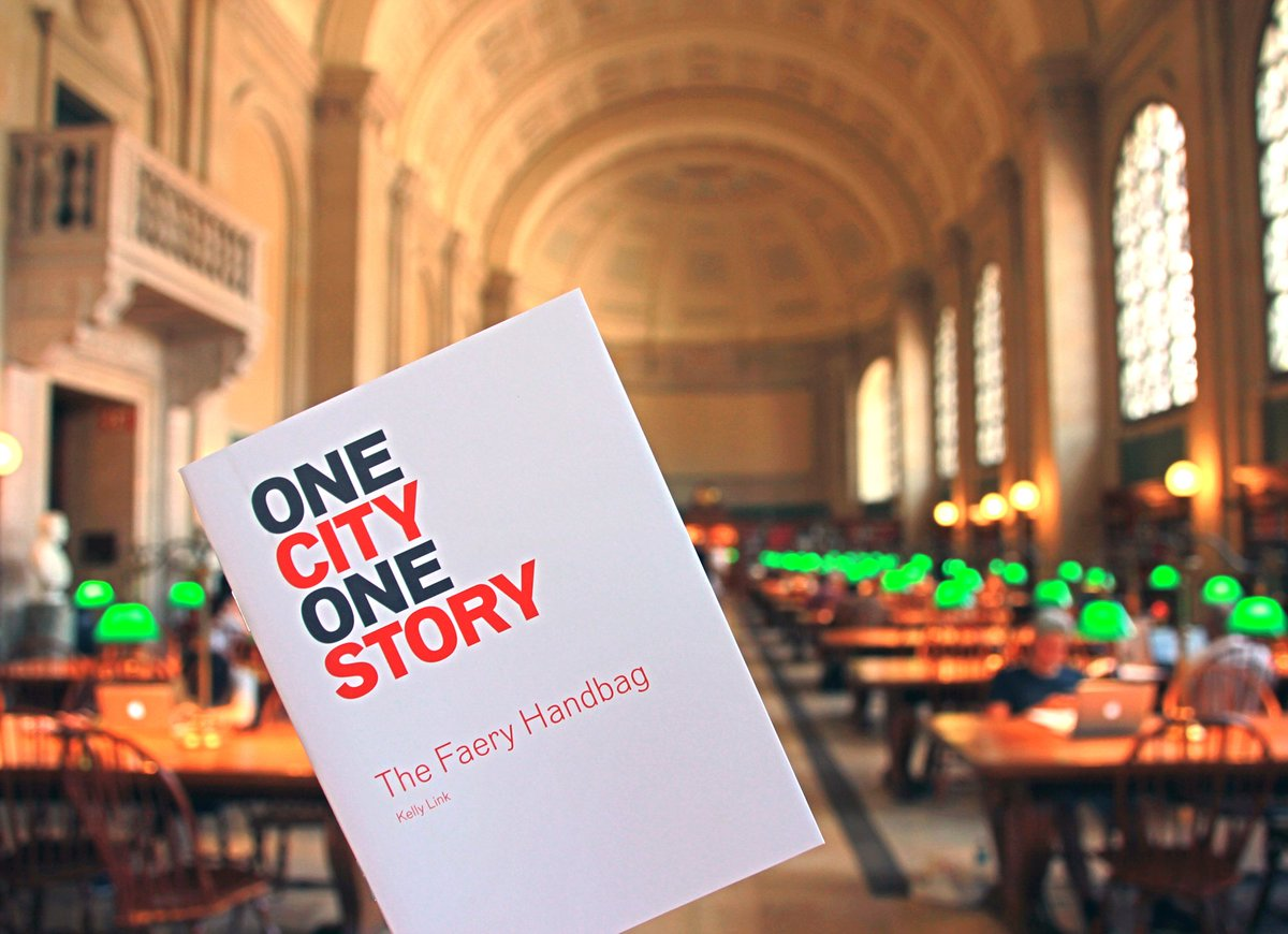 Bostonpubliclibrary On Twitter Bostonians Find This Year S Onecityonestory Pick The Faery Handbag By Haszombiesinit At All Bpl Locations 1c1s