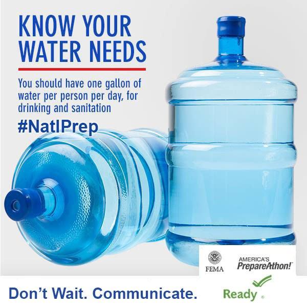Water needs logo