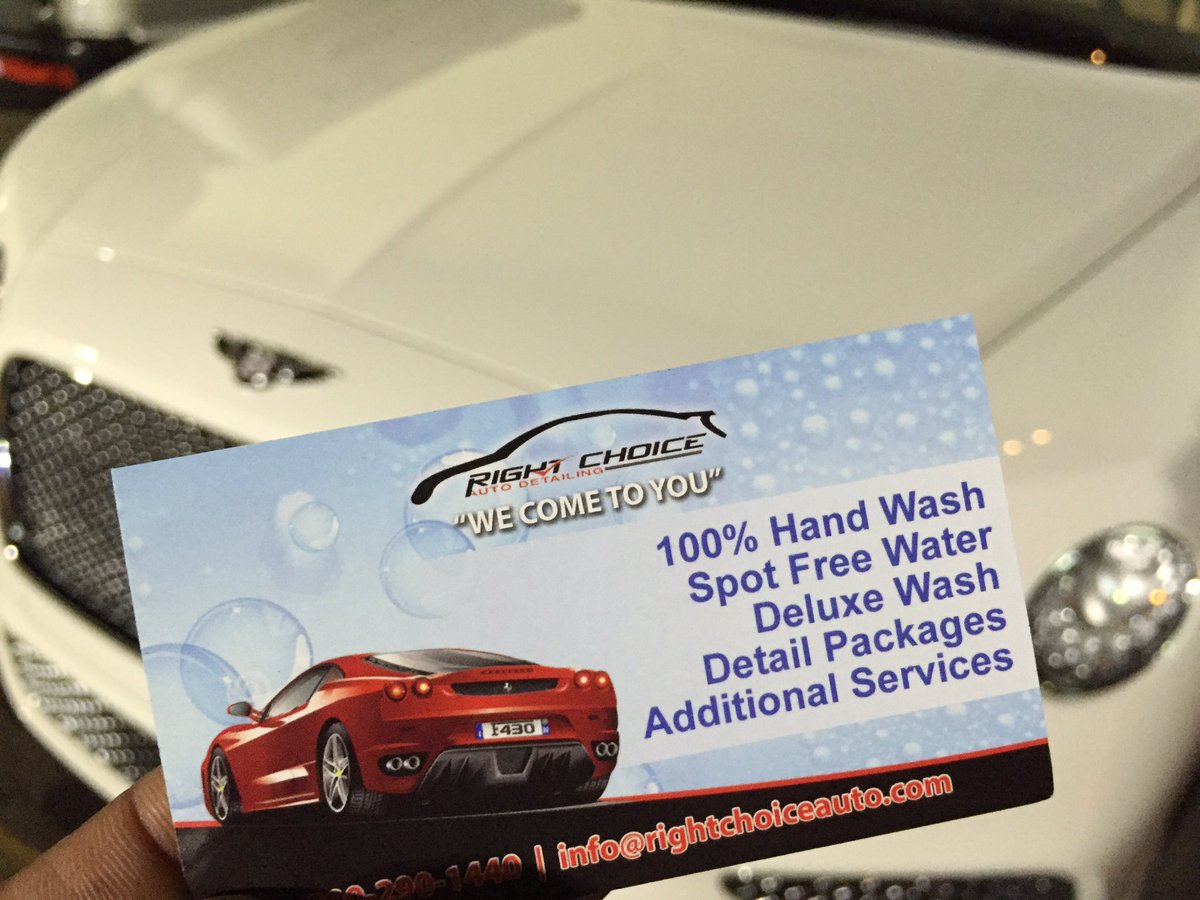 Right Choice Auto >> Right Choice Auto Rcautodetailing Twitter