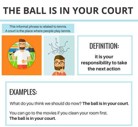 what does the ball is in your court mean
