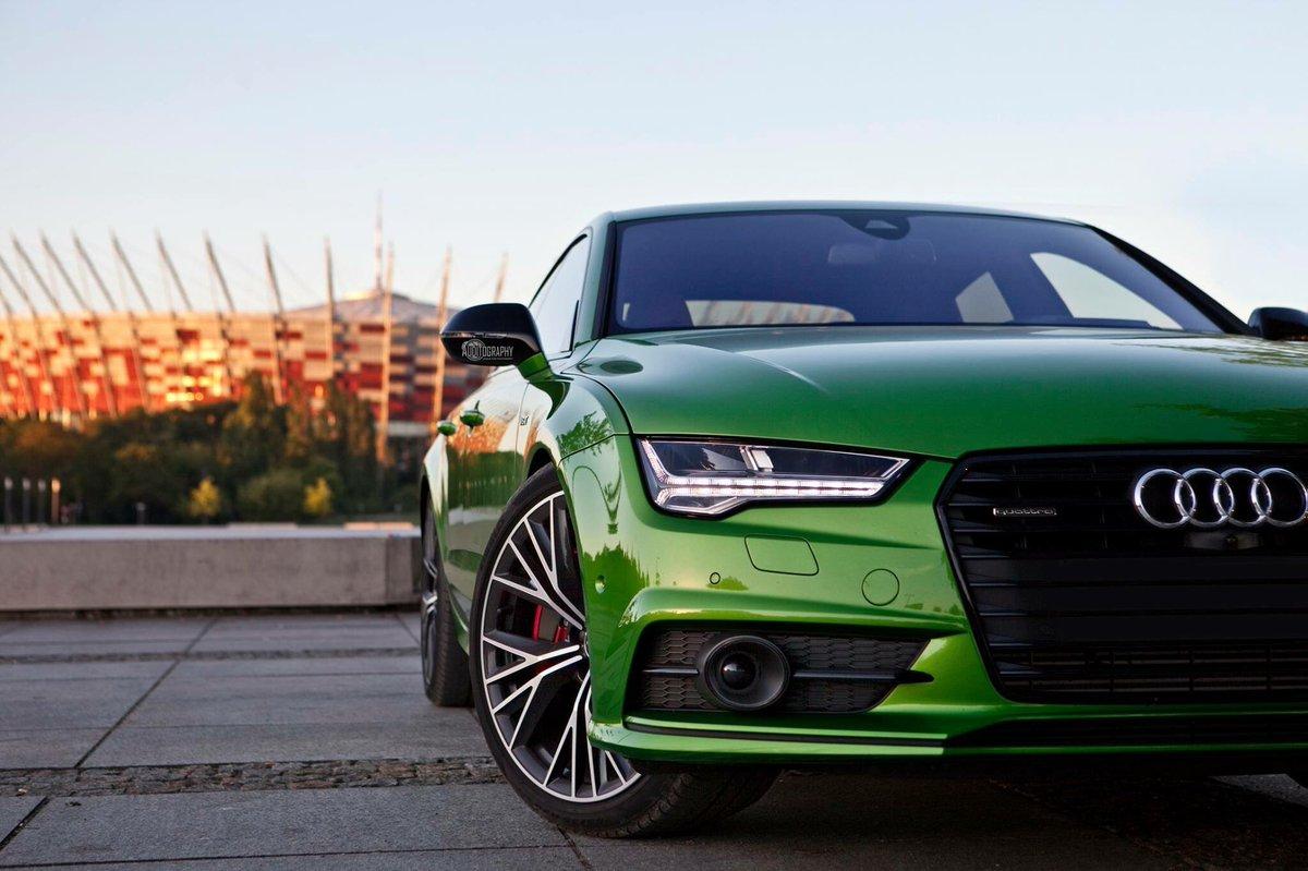 Audi Daily On Twitter Java Green Audi A7 Sportback Compétition